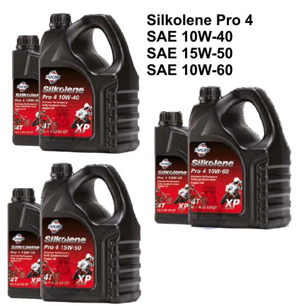 "Silkolene ""-Rad Motoröl Pro 4"