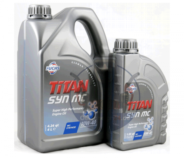 Leichtlauf-Motoröl SAE 10W-40 TITAN SYN MC