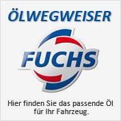 FUCHS-Ölwegweiser - Hier finden Sie das passende Öl für Ihr Fahrzeug.