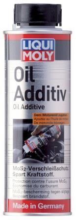 Motoröl Additiv mit MoS2