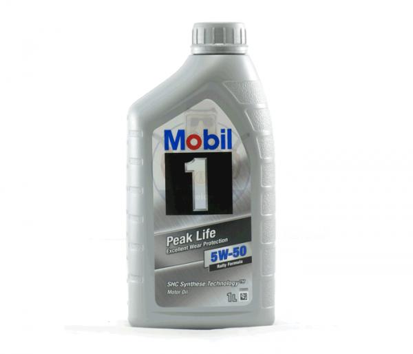 Mobil 1 Peak Life SAE 5W-50