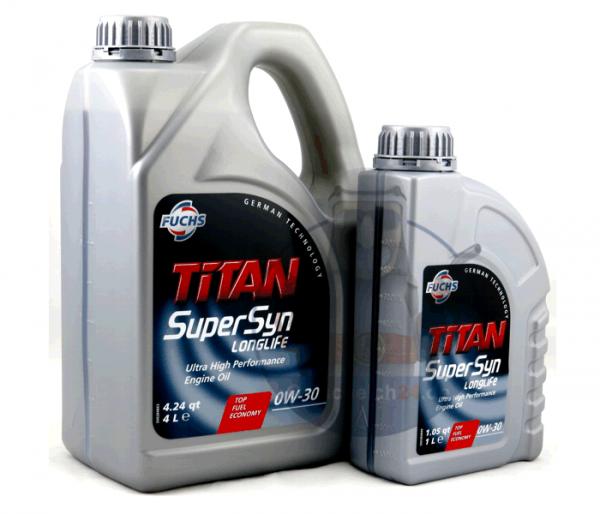 0W-30 Longlife Motoröl FUCHS TITAN SUPERSYN