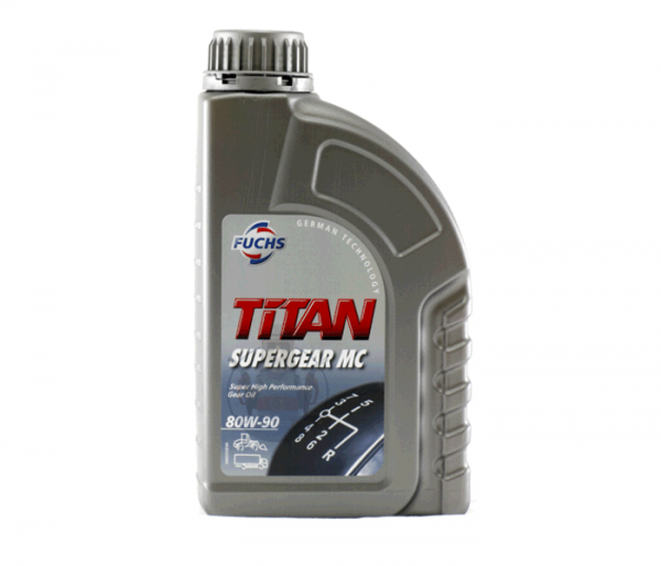 TITAN SUPERGEAR MC SAE 80W-90