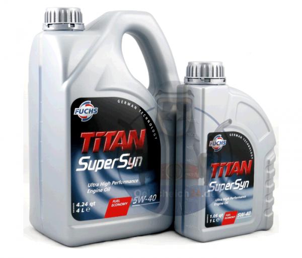 Motoröl günstig SAE 5W-40 TITAN SUPERSYN