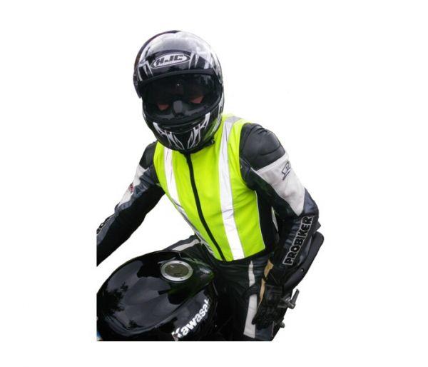 Warnweste, Motorrad