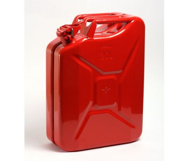 Stahlblech-Benzinkanister, 20 Liter